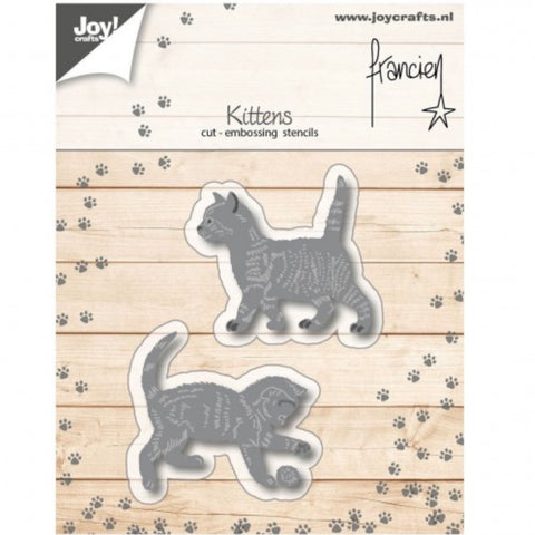 Joy Crafts Kitten Embossing & Cutting Dies Pack 2