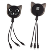 Connectech 3 in 1 USB Charging System Cute Cats