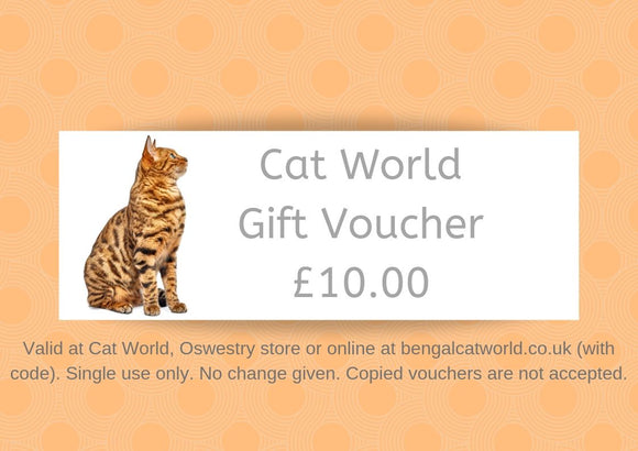 £10 Gift Voucher - Valid Online or In Store