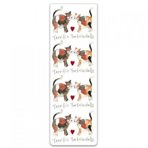 Alex Clark Magnetic Bookmark - Terrific Torties