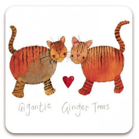 Alex Clark Fridge Magnet - Gigantic Ginger Toms