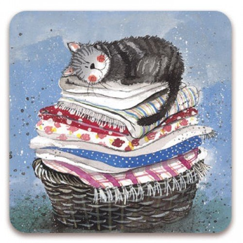 Alex Clark Fridge Magnet - Laundry Basket