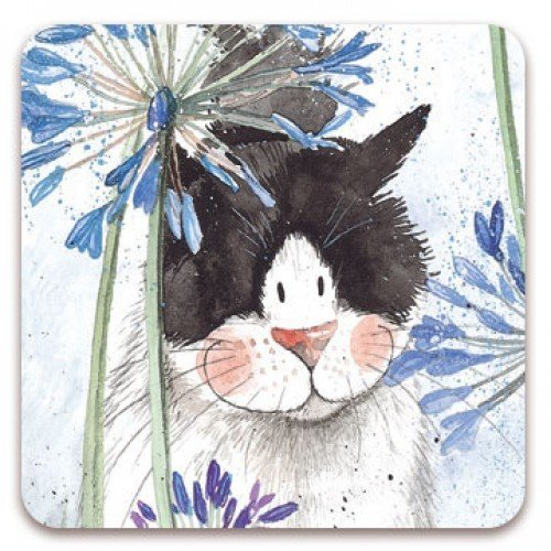 Alex Clark Fridge Magnet - Little Frisky