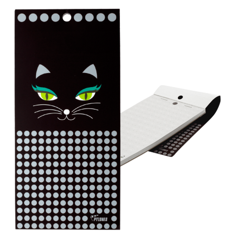 Black Cat Magnetic Notebook Memo Block