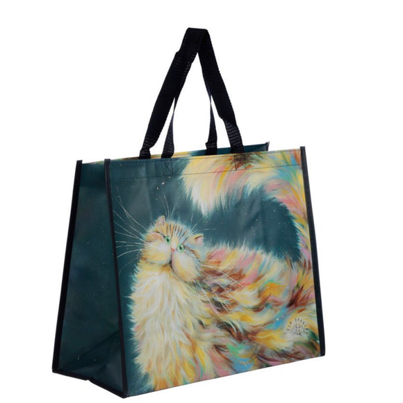 Kim Haskins Rainbow Cat Reusable Shopping Bag