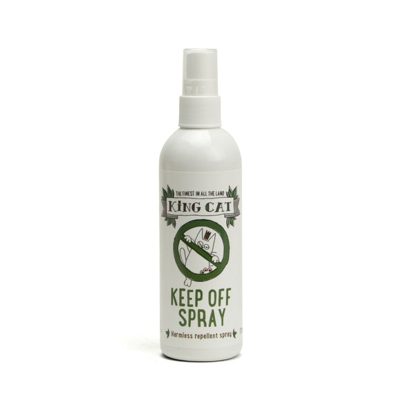 King Cat Keep Off Spray - Harmless Repellant 175ml