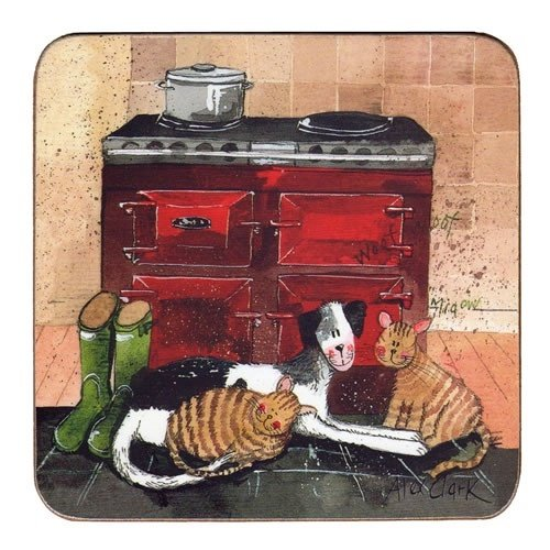 Alex Clark Fridge Magnet - In the Warmth