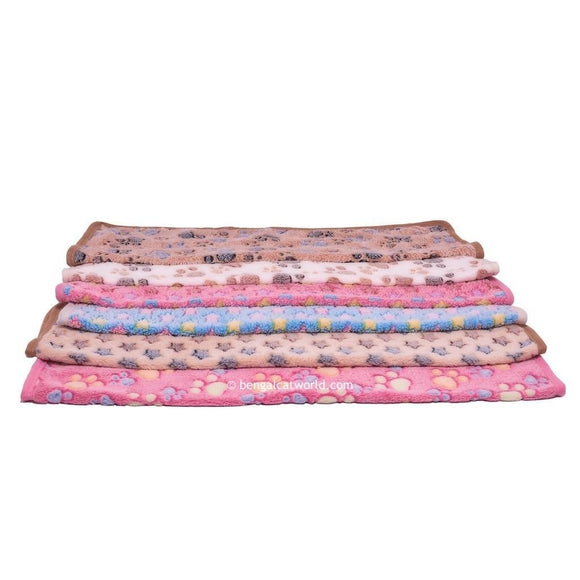 Soft Fleecy Blanket - 9 Colour Options
