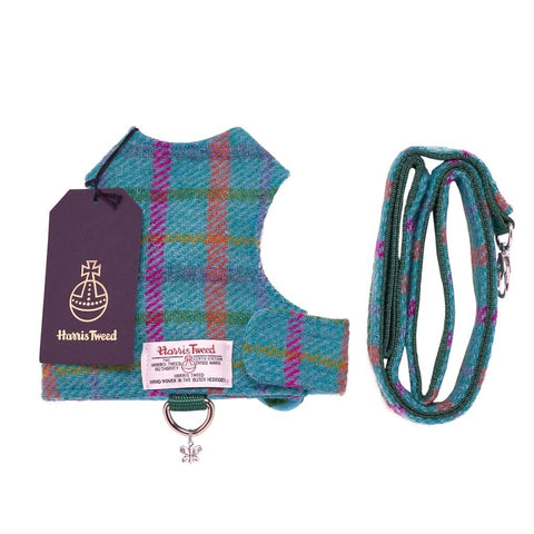 Butterfly Cat Jackets & Leash - Harris Tweed (5 Designs)