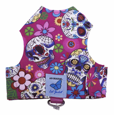 Butterfly Cat Jackets - Skulls (6 Designs)