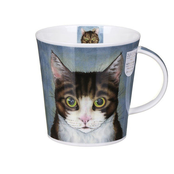 Dunoon Fine Bone China Mug Rogues' Gallery Tabby Cats