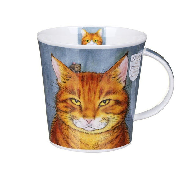 Dunoon Fine Bone China Mug Rogues' Gallery Ginger Cats