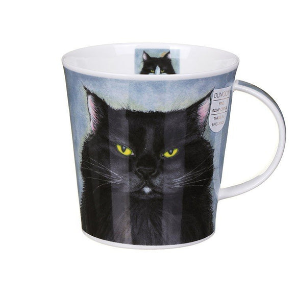 Dunoon Fine Bone China Mug Rogues' Gallery Black Cats