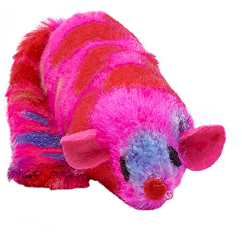 Ferret Cat Toy with Rattle - 3 Colour Choices