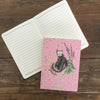Alex Clark Naked Spine Cat Notebook