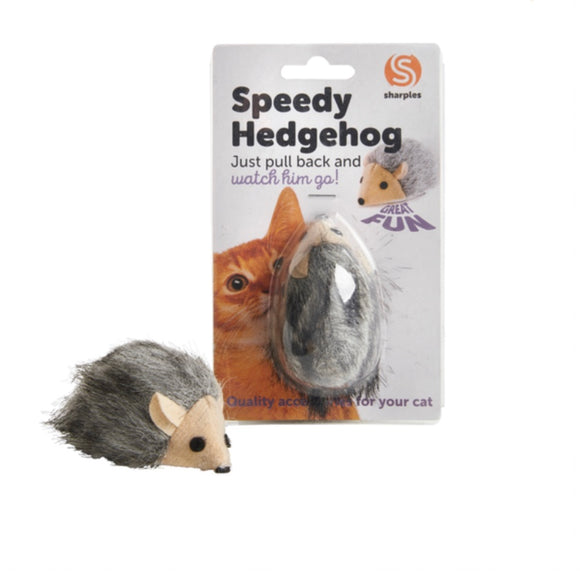 Sharples Speedy Hedgehog Cat Activity Toy