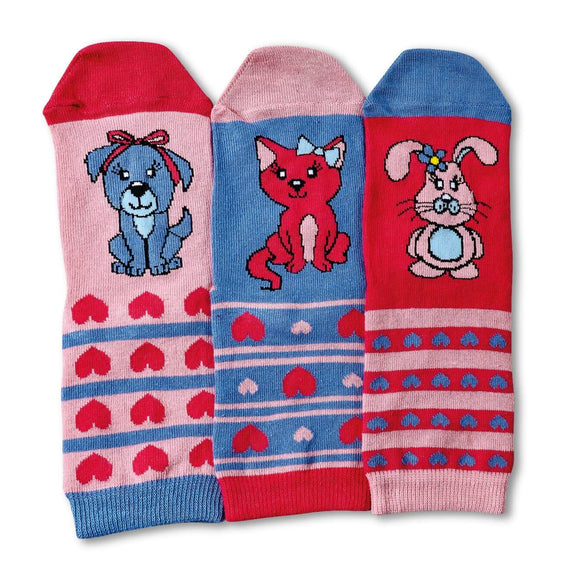 Pets Oddsocks Pack of 3 Socks for Toddlers