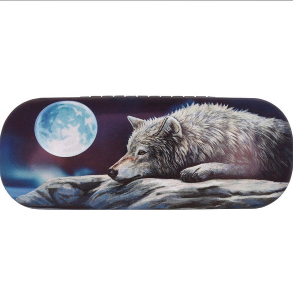Lisa Parker Quiet Reflection Wolf Glasses Case