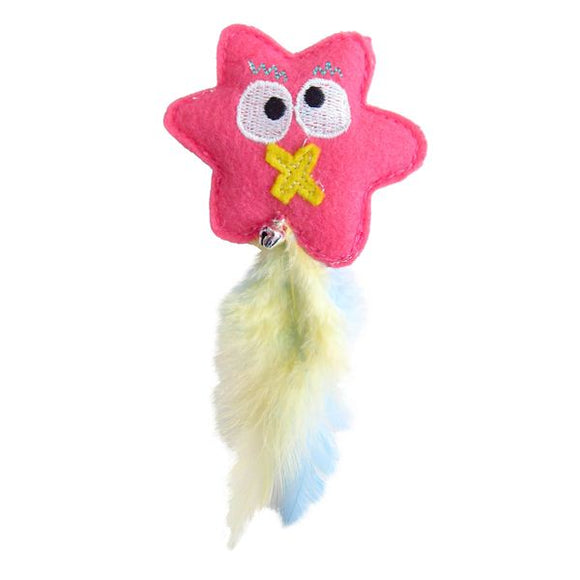 Happy Meow Pinky Catnip Flower Cat Toy