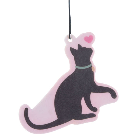 I Love My Cat Silhouette Cherry Air Freshener