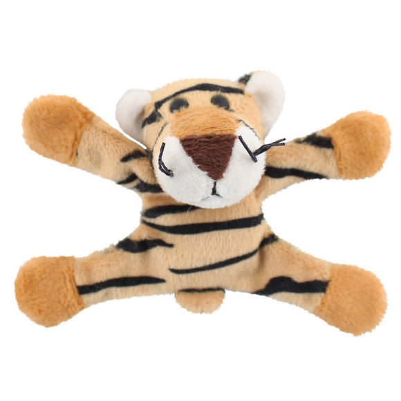 Plush Tiger Magnet - Flexible and Adjustable