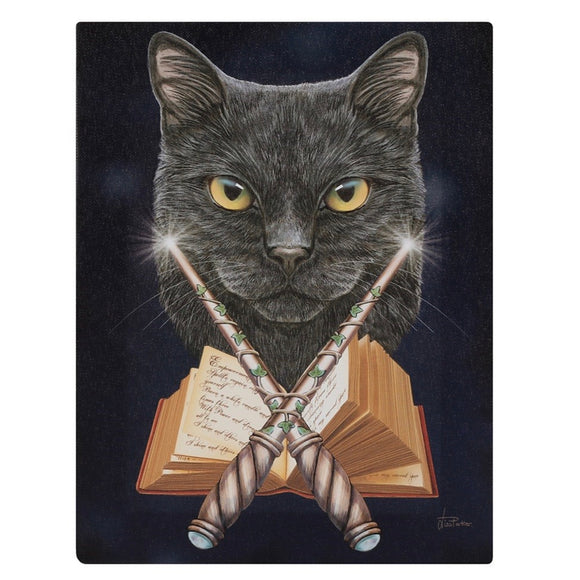Lisa Parker Magick Maker Canvas Cat Plaque