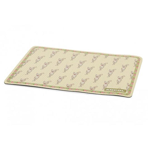 Ancol Lulu Cat Polka Cute Cat Feeding Mat
