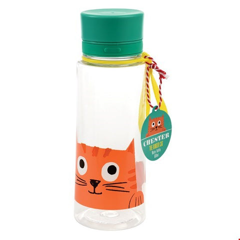 Chester the Cat Reusable Water Bottle