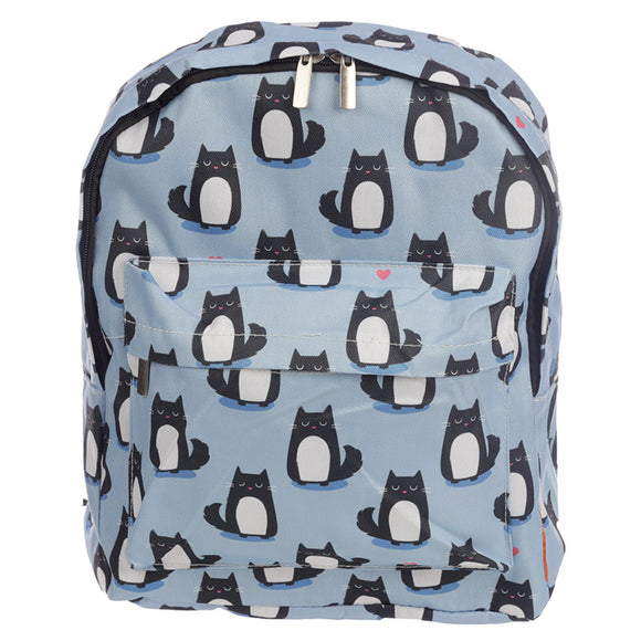 Feline Fine Cat Rucksack / Backpack