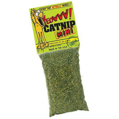 Yeowww! Premium Organic Catnip Dried Leaves - Mini