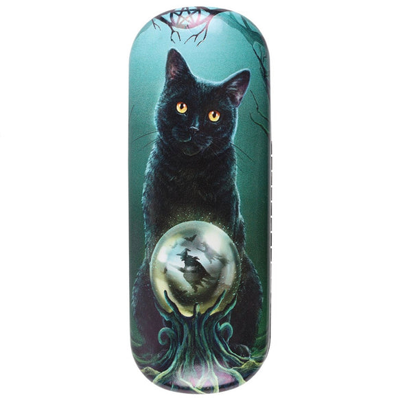 Lisa Parker Rise of the Witches Cat Glasses Case
