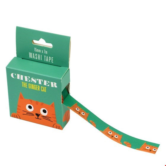Chester the Cat Washi Tape - Crafts / Wrapping