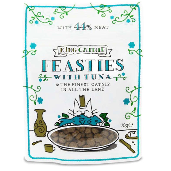 King Cat Feasties - Tuna Catnip Cat Treats