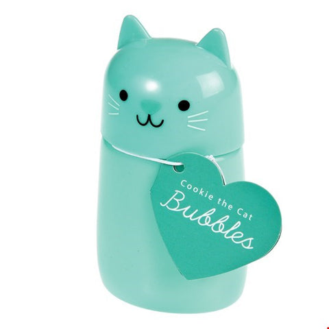 Cookie the Cat Bubble Blowing Toy