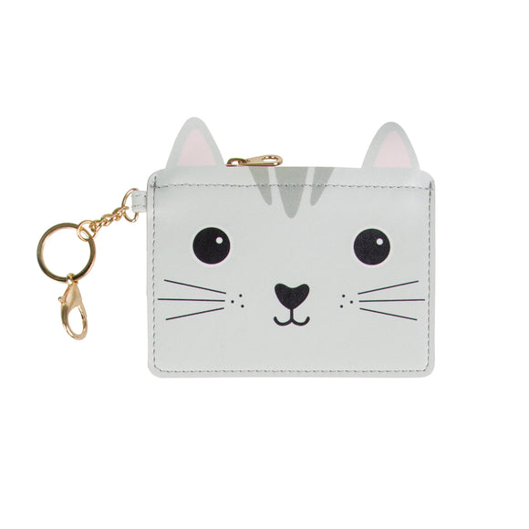 Sass & Belle Nori Cat Kawaii Keyring Coin Purse