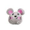 Cute Critters Soft Catnip Cat Toy - Georgie the Grey Mouse