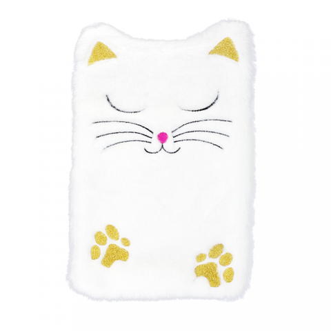 Hotly - Fluffy White Cat Hot Water Bottle