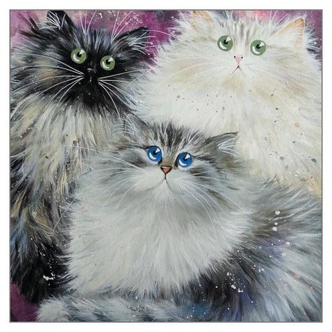Kim Haskins Siberians Greetings Card
