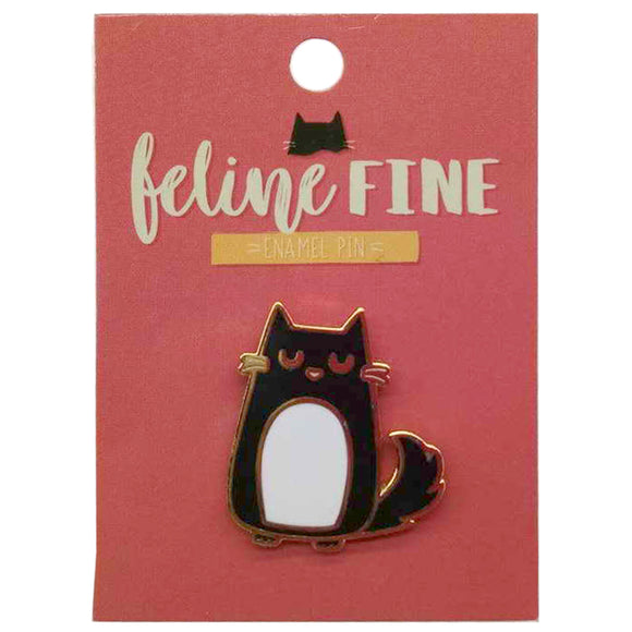 Feline Fine Collectable Cat Enamel Pin Badge