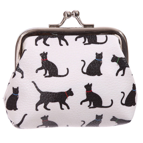 I Love My Cat Silhouette Tic Tac Purse