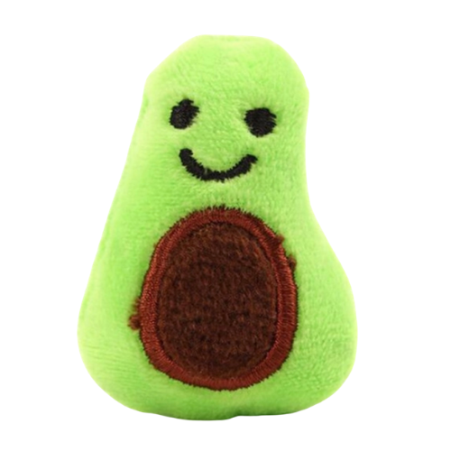 Cute Critters Soft Catnip Cat Toy - Annabelle the Avocado