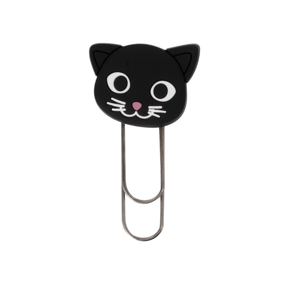 Ani-Smallmark - Black Cat Bookmark