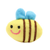Cute Critters Soft Catnip Cat Toy - Barry the Bigger Bee