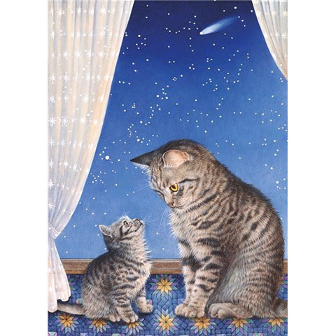Lesley Anne Ivory Greetings Card - Mintaka & Lucy