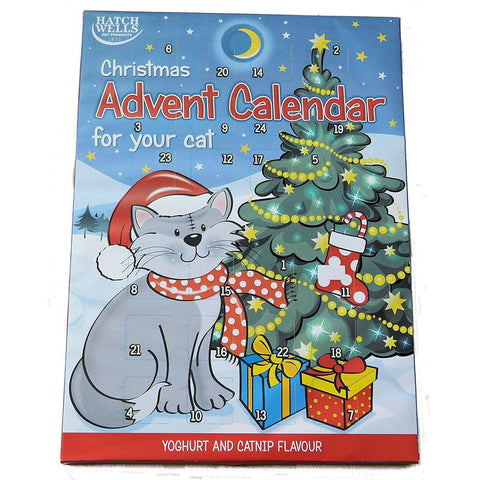 Cat Advent Calendar Yoghurt & Catnip Treats