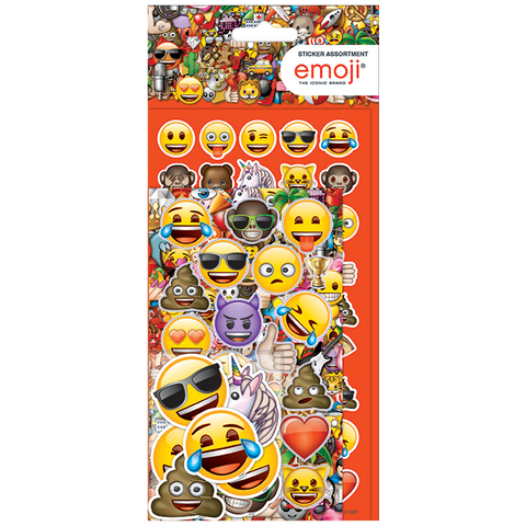 Emoji Great Value Fun Sticker Assortment