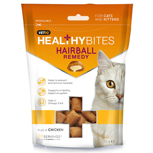 VetIQ Healthy Bites Cat Treats - Hairball Remedy