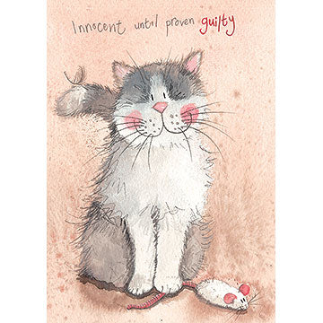 Alex Clark Animal Antics Card - Innocent