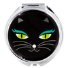 Lady Look Black Cat Compact Pocket Mirror