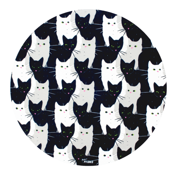 Desk Mouse Mat - Cha Cha Cha Cats
